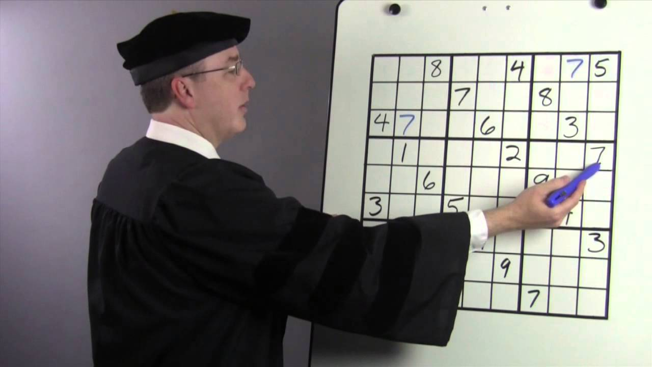 Are You Solving Sudoku Puzzles this Way? There's a Better Approach – Part 1