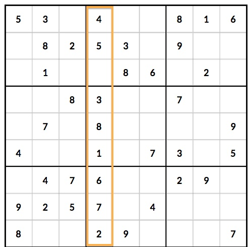 3 Sudoku Mistakes that Beginning Players Make - 1