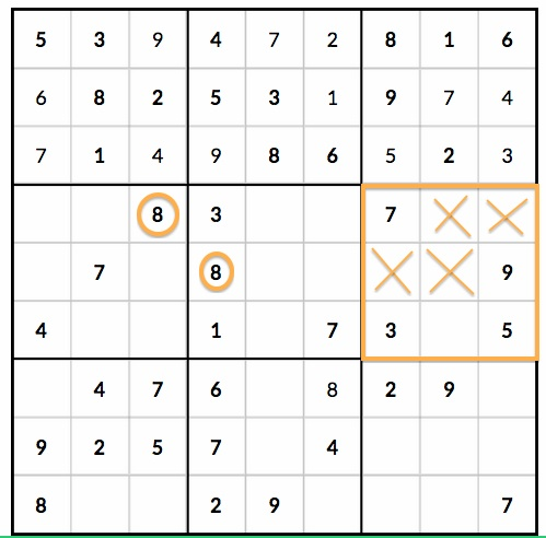 3 Sudoku Mistakes that Beginning Players Make - 3